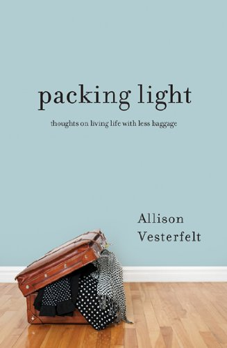 Packing Light book and thoughts of a simpler life