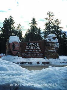 Welcome to Bryce Canyon National Park, Utah