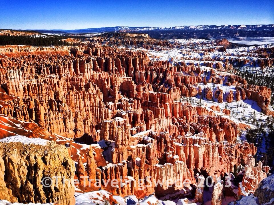 Hoodoo's, a pillar of rock, the main characteristics of Bryce. Hoodoo means to cast a spell.