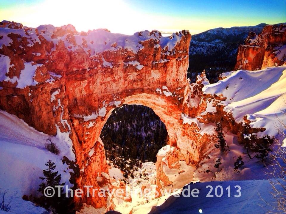 Natural Bridge, elevation 8627 ft.