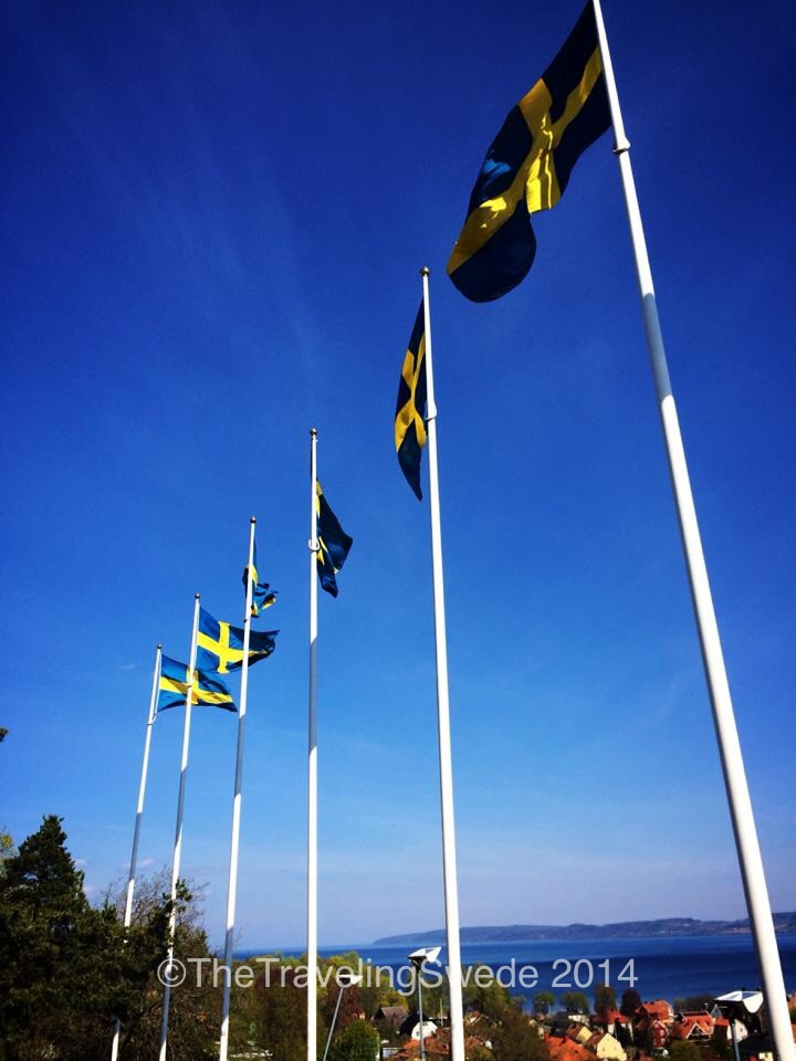 And if you didn't know how the Swedish flag looked like, you do now.