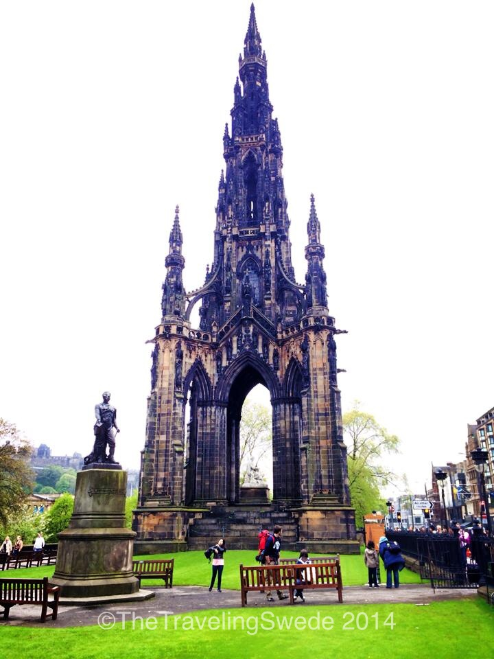"Scott's Monument. Also nick named ""the Gothic Rocket Ship."""
