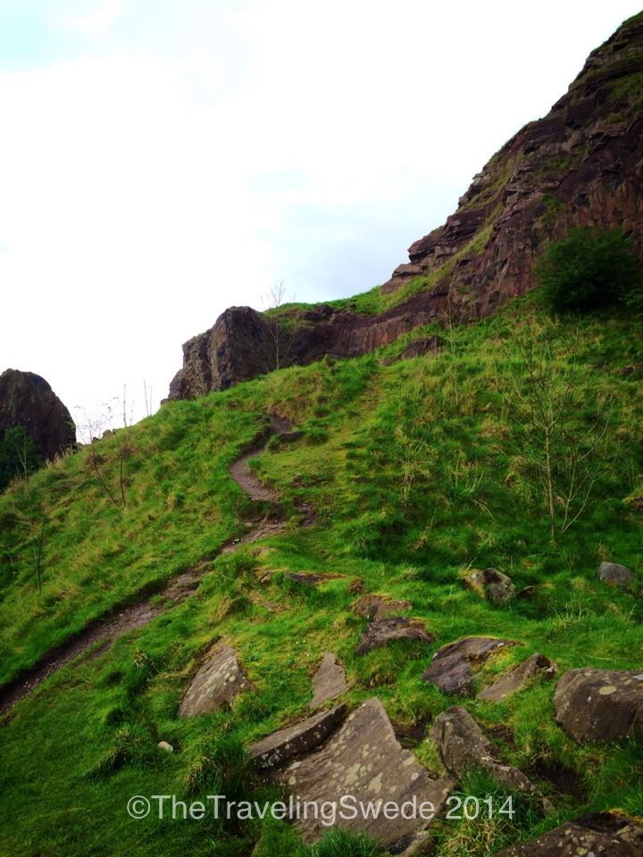 Aha! They do have nature in Scotland. This hiking trail and area that leads you to Arthur's Seat is right next to the city but for the most part you would have no idea. Let's go hike!
