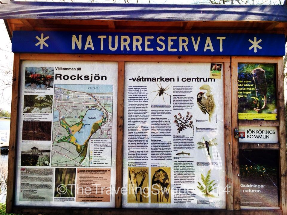 Naturreservat means nature preserve. Here you will find an abundance of wetland, birds and tranquility. And you are still in a city!