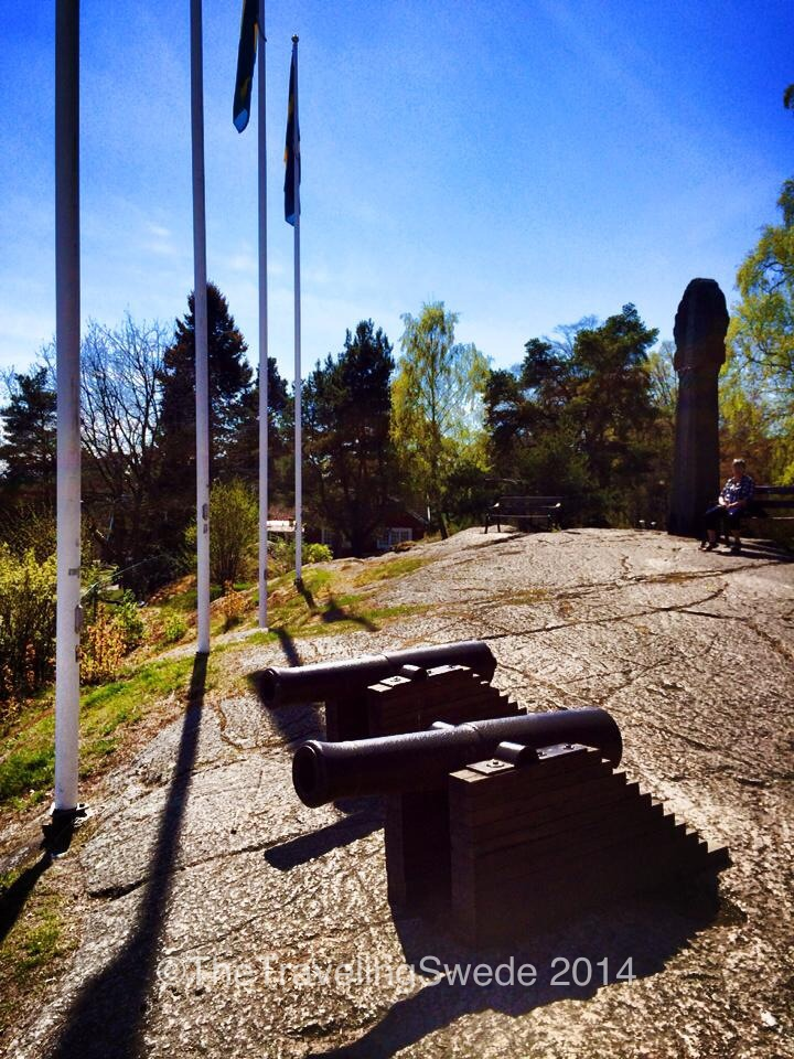 Sweden today is a neutral country but that was not always the case. Old cannons used to protect the city from invaders, like the Danes.