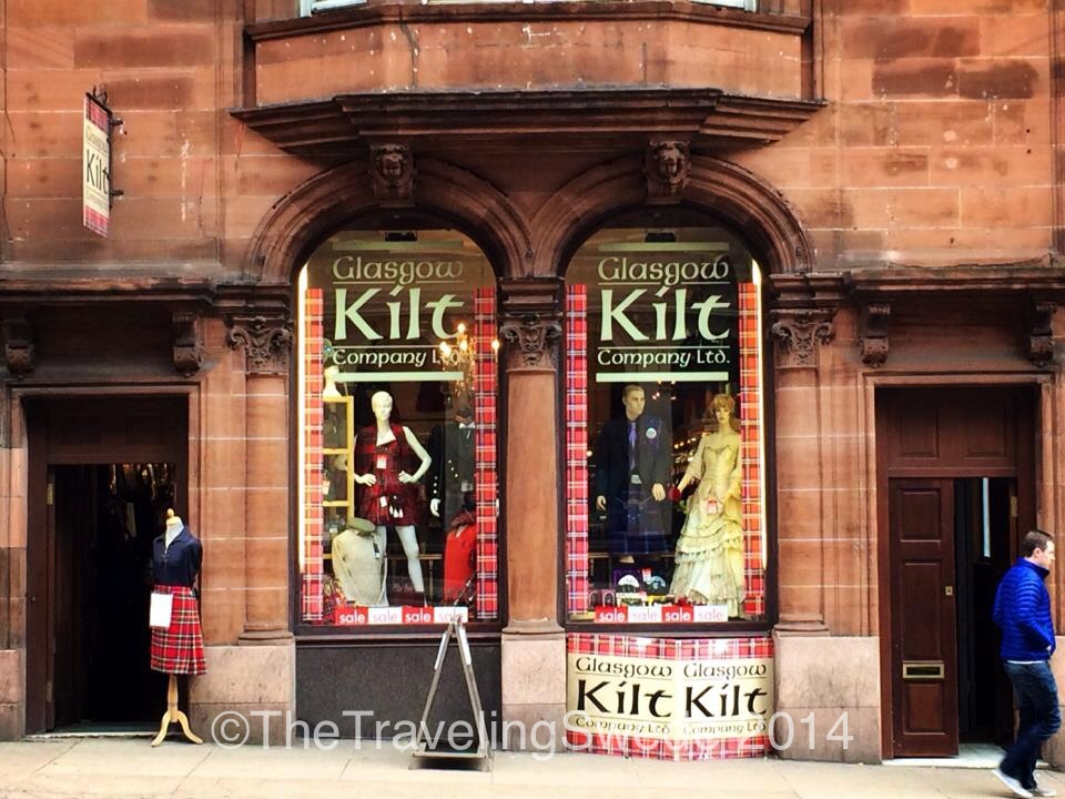 And of course, what would Scotland be without  kilt shops? I have yet to find out if men truly wear anything underneath those things...hmm, that's a project for next trip!