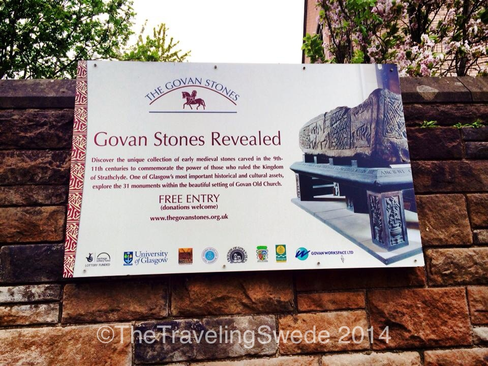 Just a short subway trip and walk from the University lays the Govan Stones. Let's go explore!