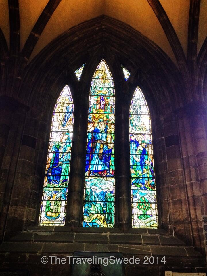 This is part of why I love walking inside a cathedral. The beautiful glass that makes a window.