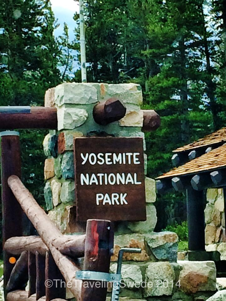 Welcome to Yosemite National Park.
