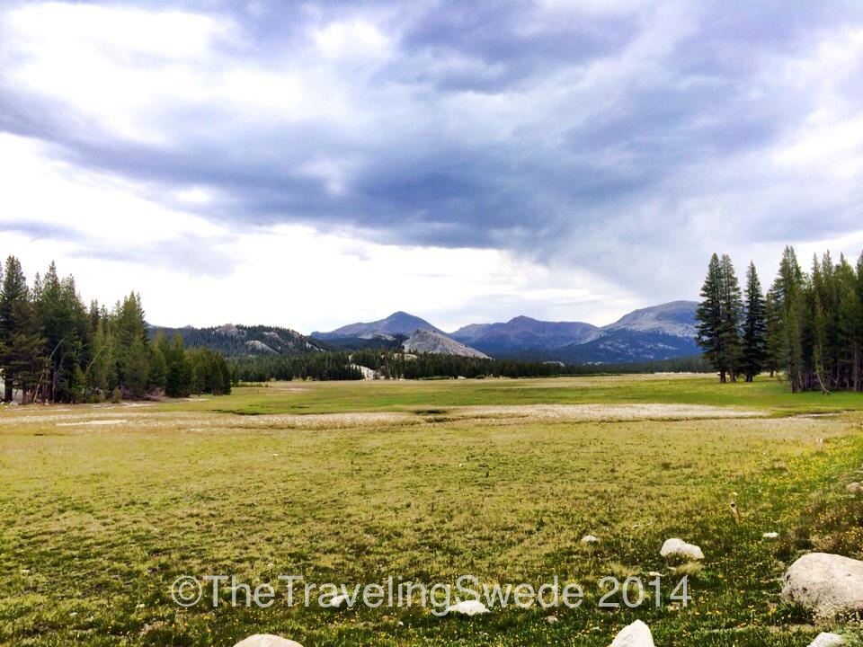 Right after the Visitor Center this awaits you. Welcome to Tuolumne Meadows. The Pacific Crest Trail goes through here.
