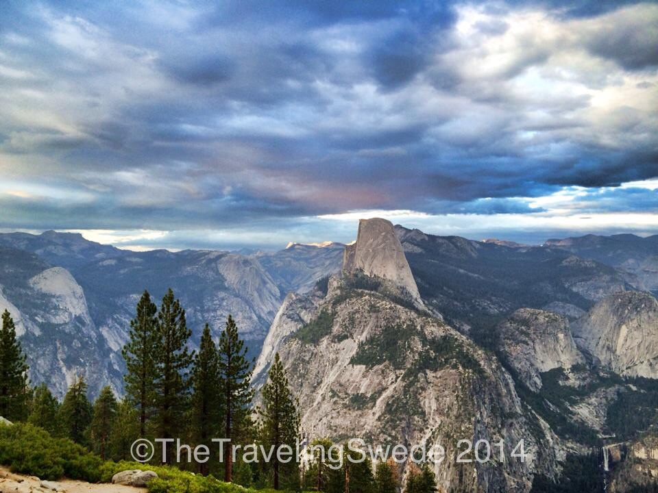 I should have just called this the Half Dome post. I took so many photos of it. But it truly is stunning. Especially looking at it from different views.