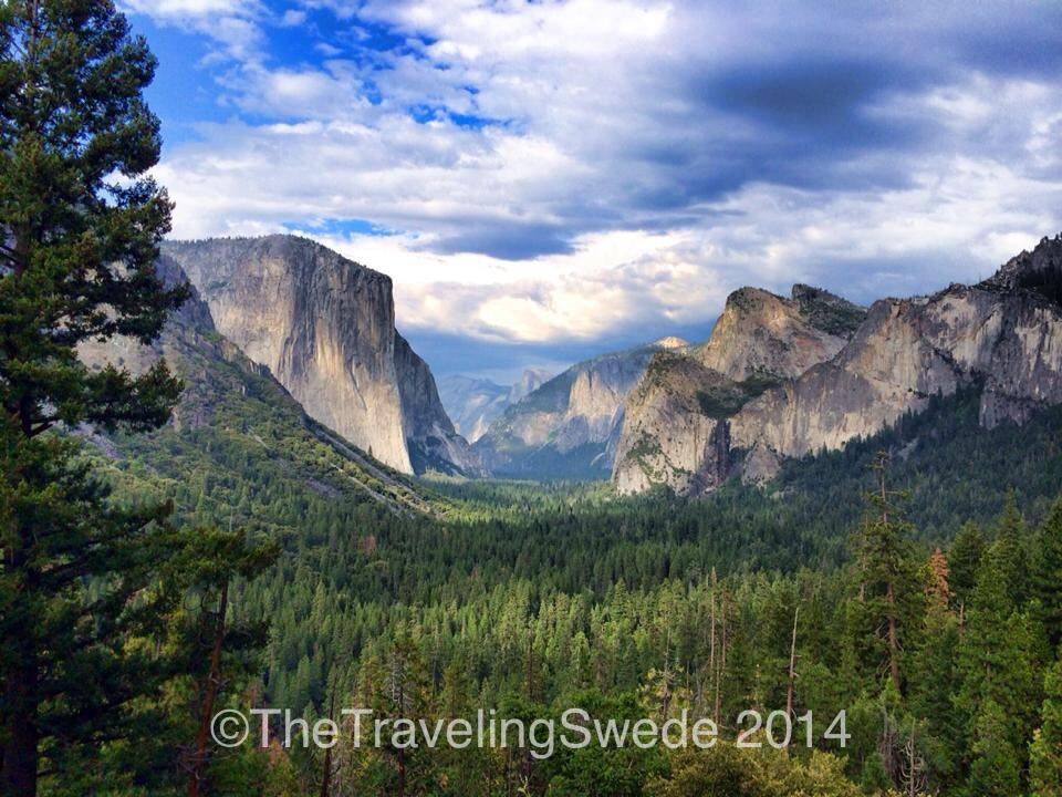 View from the Tunnel View. This is not to be missed.