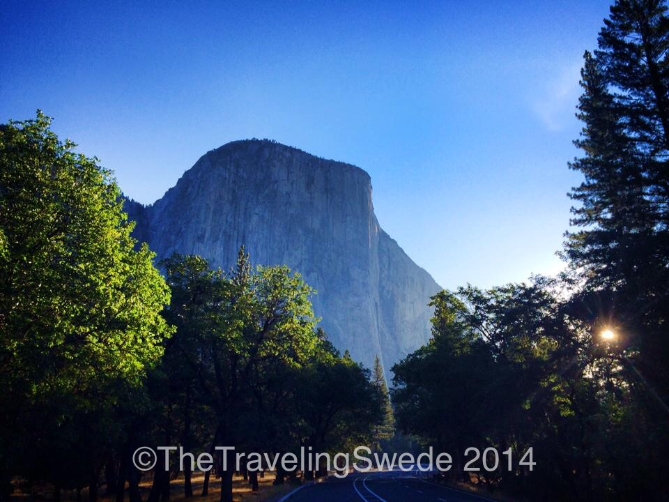 El Capitan - one of the most beautiful granite rocks in the world...