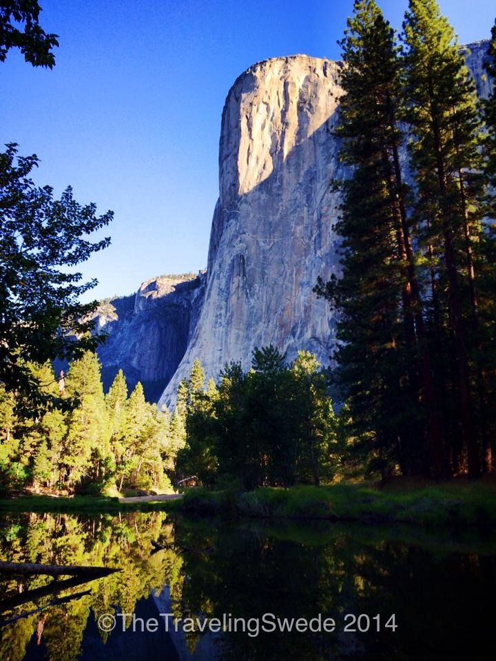 It's so tall it was impossible without special lenses to capture the mirror of El Capitan in the river. Can't wait to go back and get that photo!