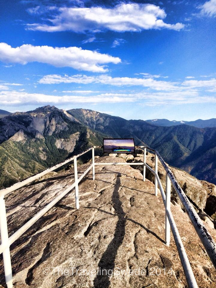Here you have a 180 plus degree view. What a cool place to be! So worth the 400 steps of hiking.
