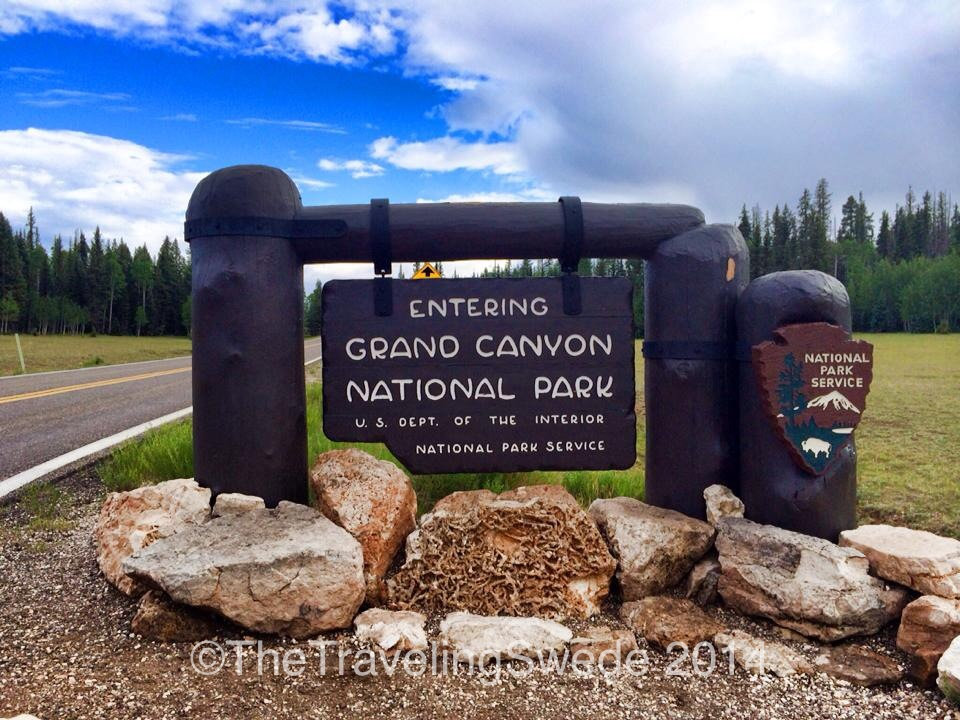 I always love arriving at a new Welcome to National Park sign...