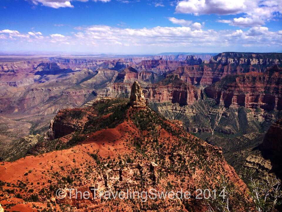 One more view of this incredible north rim of Grand Canyon.